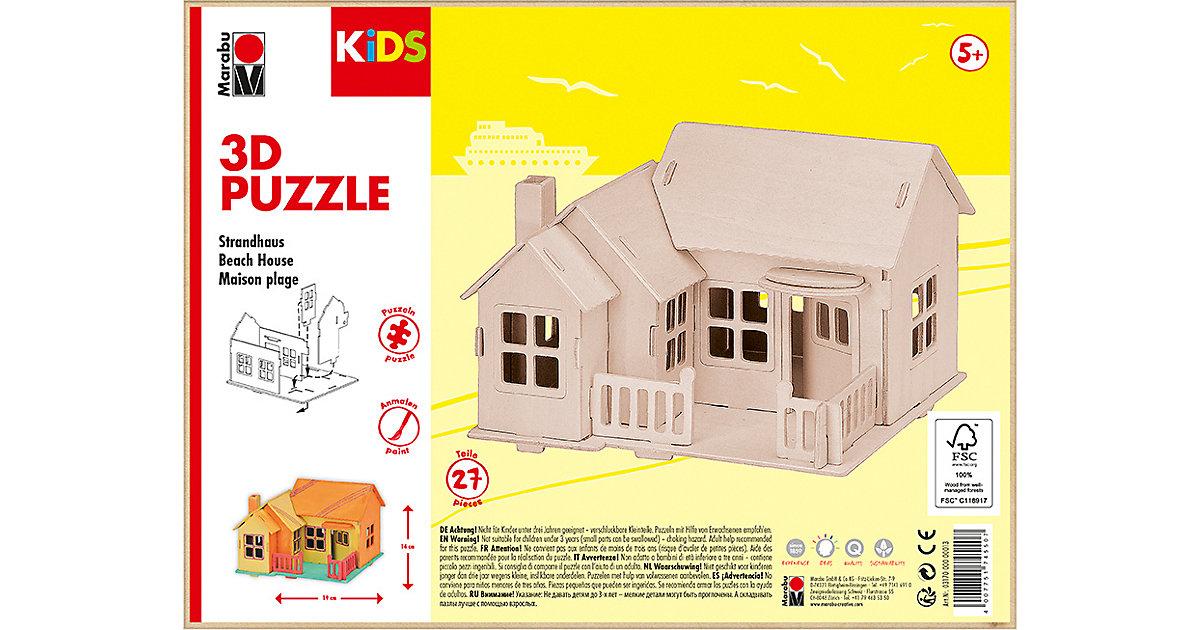 mara by Marabu 3D Puzzle Strandhaus
