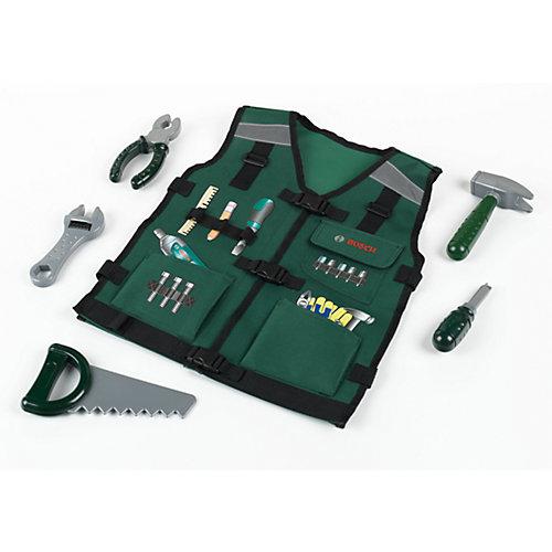 - klein Bosch Werkzeugweste mit Zubehör   04009847085689