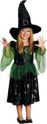 Kostüm Magierin Gr. 140 Mädchen Kinder