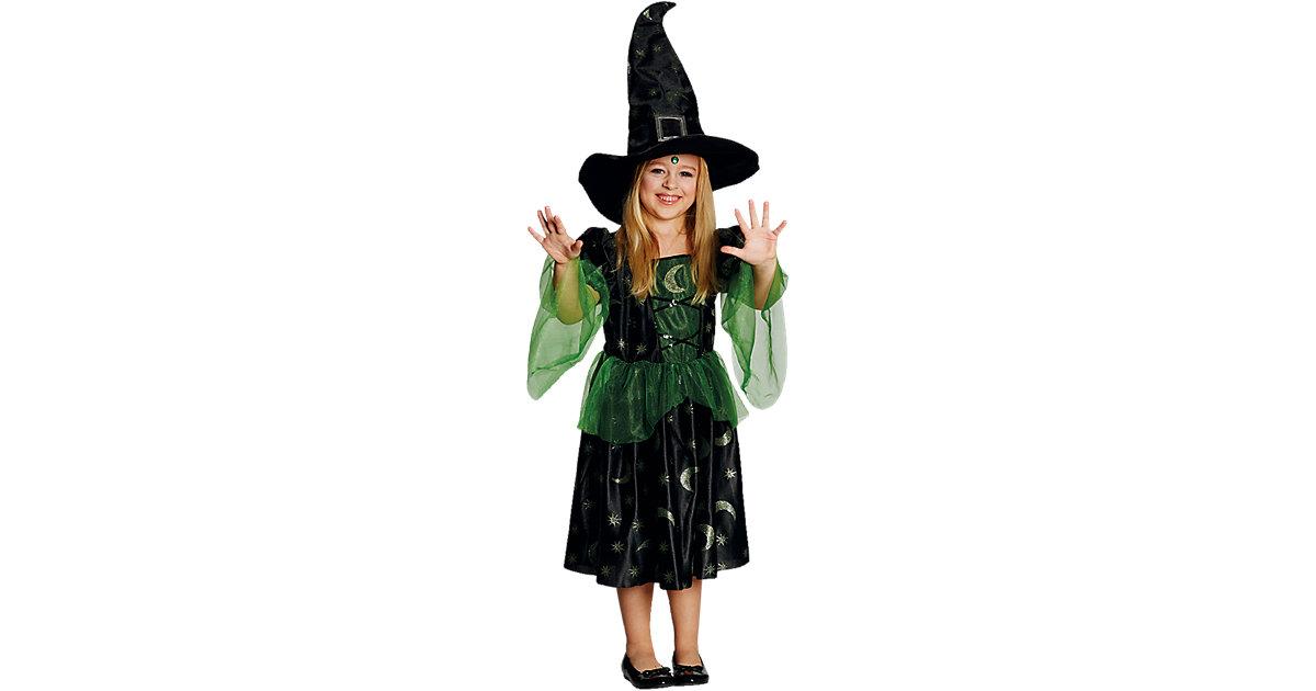 Kostüm Magierin Gr. 104 Mädchen Kleinkinder