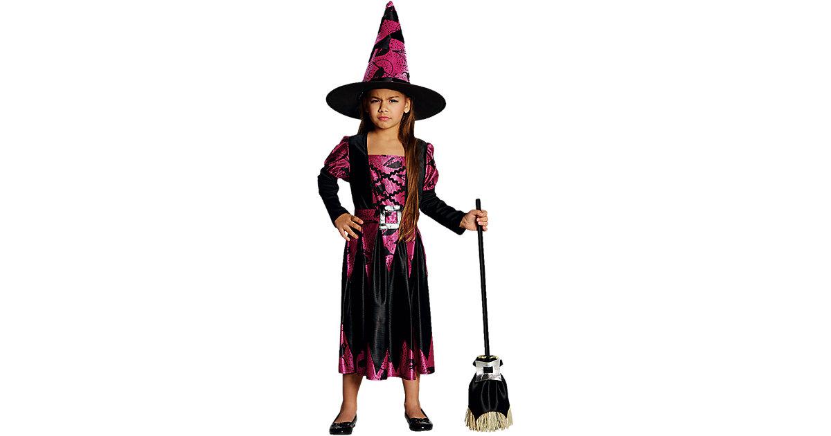 Kostüm Hexe Aniha schwarz-pink Gr. 128