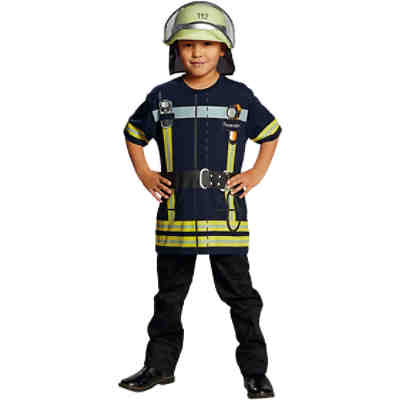 Spieleshirt Feuerwehr Blau Rubie S Mytoys