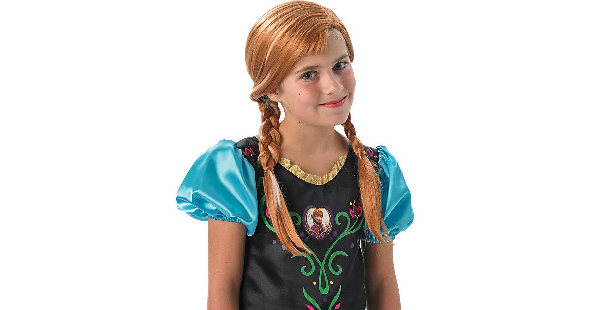 Eiskönigin Anna Perücke Mädchen Kinder