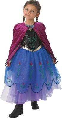Kostüm Eiskönigin Anna Premium Gr. 104/116 Mädchen Kleinkinder