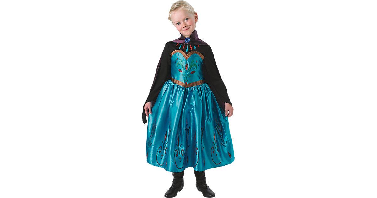 Kostüm Eiskönigin Elsa Krönungs-Kleid Gr. 104/116