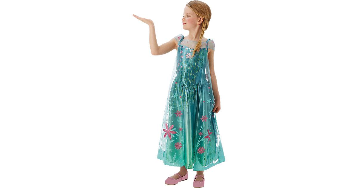 Kostüm Eiskönigin Elsa Party-Fieber türkis Gr. 104 Mädchen Kleinkinder