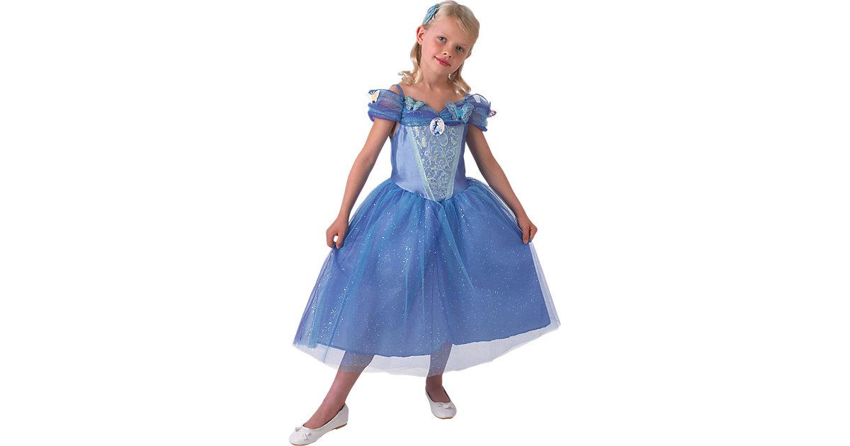 Kostüm Cinderella Movie Live Action Gr. 104 Mädchen Kleinkinder