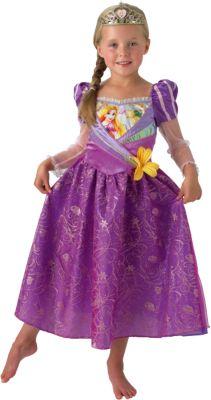 Kostüm Rapunzel Shimmer Gr. 116/128 Mädchen Kinder