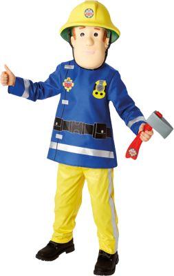 Kostüm Feuerwehrmann Sam Deluxe child Gr. 116/128 Jungen Kinder