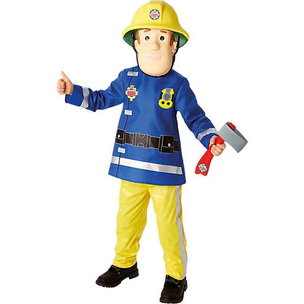 Kostum Feuerwehrmann Sam Deluxe 4 Tlg Feuerwehrmann Sam Mytoys