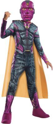 Kostüm Avengers 2 Vision Classic Gr. 116/128 Jungen Kinder