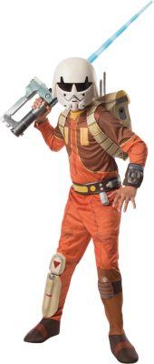 Kostüm Star Wars Rebels Ezra Bridger Deluxe Gr. 128/140 Jungen Kinder