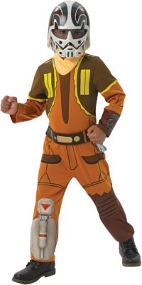 Kostüm Star Wars Rebels Ezra Deluxe Gr. 128/140 Jungen Kinder