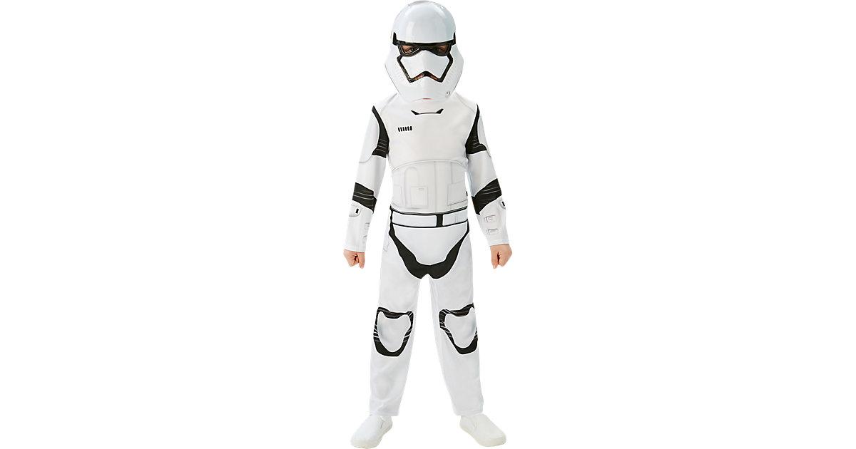 Kostüm SW Erwachen der Macht Stormtrooper Classic weiß Gr. 110/116 Jungen Kinder