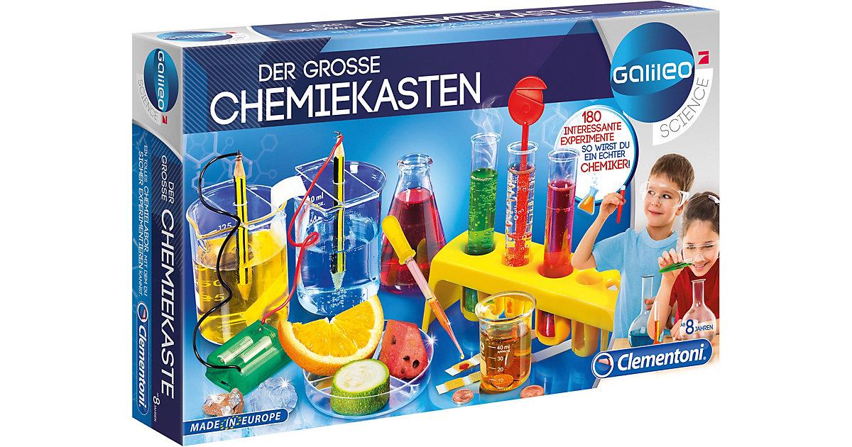 Clementoni · Galileo - Der große Chemiekasten