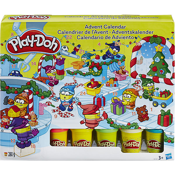 Play Doh Adventskalender
