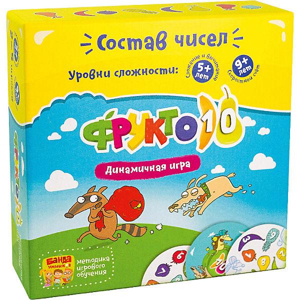 """Развивающая игра """"Фрукто 10"""" Банда Умников"""