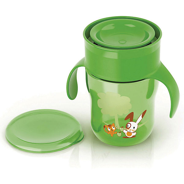 Чашка-поильник, Philips Avent, 260 мл., зелёный