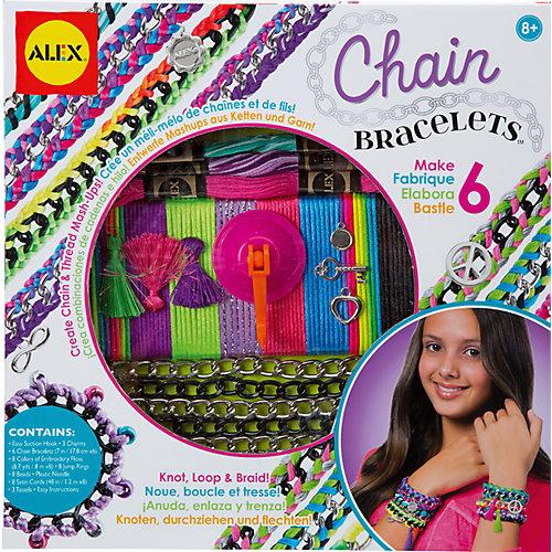 """Набор для создания браслетов """"Цепочки и пряжа"""", ALEX от ALEX"""