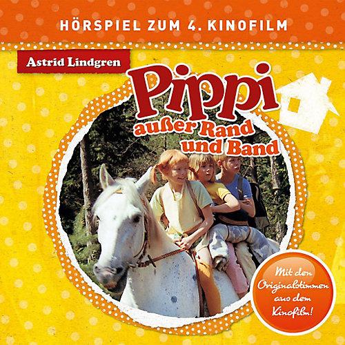 Universal CD Pippi Langstrumpf - außer Rand und Band (Hörspiel zum Spiel)