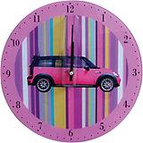 """Настенные часы """"Автомобиль"""" (стекло)"""