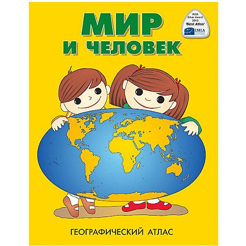 """Атлас """"Мир и человек"""" от Издательство Ди Эм Би"""