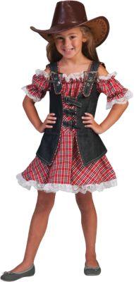 Kostüm Denim Ranger Girl Gr. 128 Mädchen Kinder