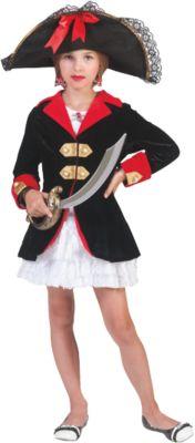 Kostüm Pirate Girl Gr. 128 Mädchen Kinder