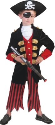 Kostüm Pirate Boy Gr. 164 Jungen Kinder