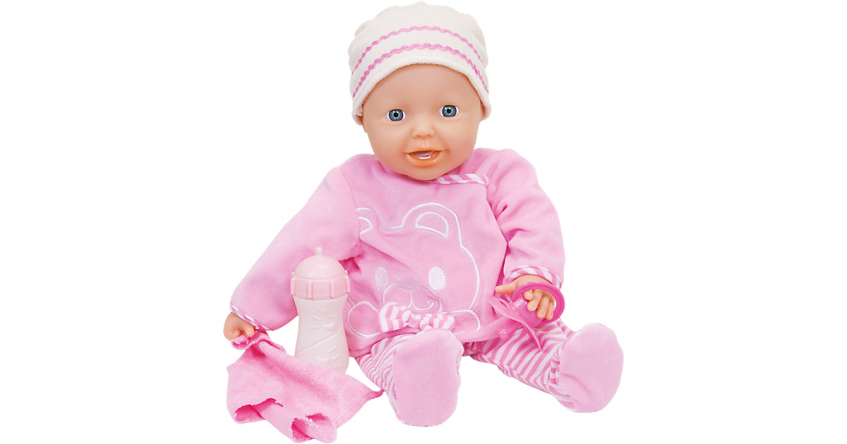 Babypuppe Laura Kiss and Sneeze, 38 cm