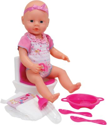 New Born Baby Flushing Potty, 38 cm