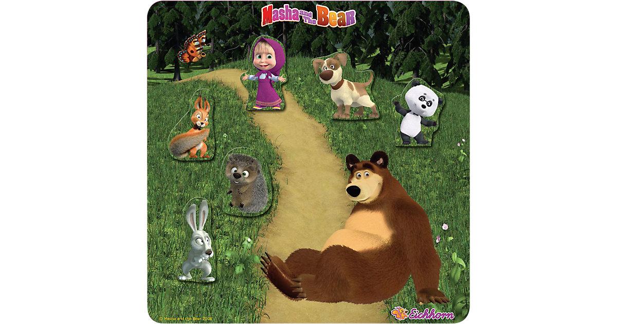 EICHHORN Masha and the Bear - Magnetpuzzle