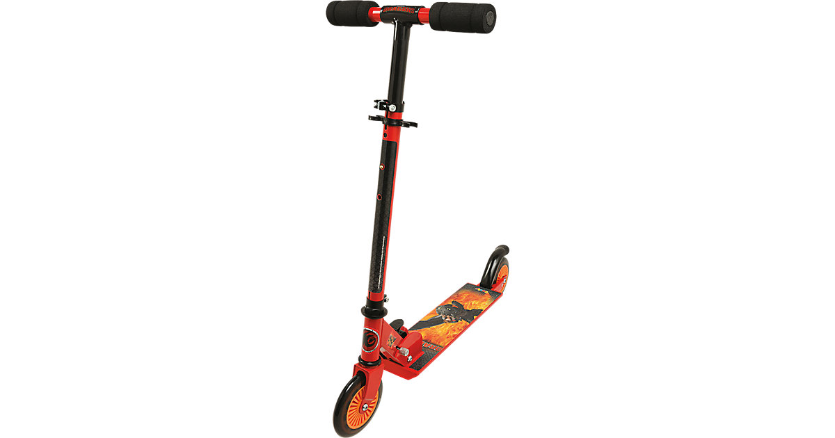 Dragons Scooter mit Bremse, zusammenklappbar
