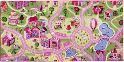 Kinderteppich grau rosa  Kinderteppiche – Kinderteppiche mit verschiedenen Motiven online ...