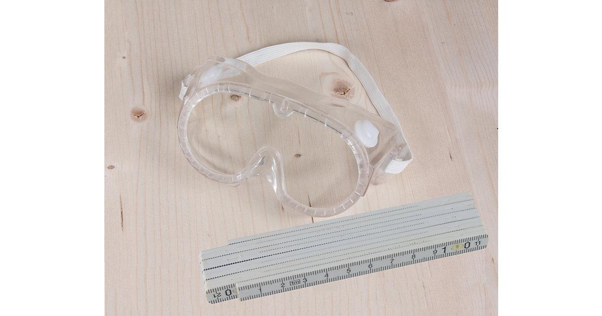 Werkzeug-Set Schutzbrille Kinder mit Zollstock  Kinder