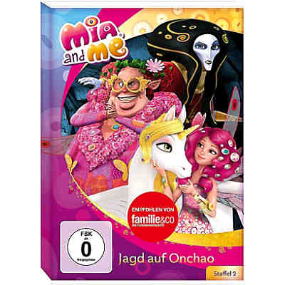 DVD Mia and Me - Jagd auf Onchao (Staffel 2/2)
