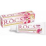 Зубная паста Sweet Princess с ароматом розы, 3-7 лет, R.O.C.S. Kids