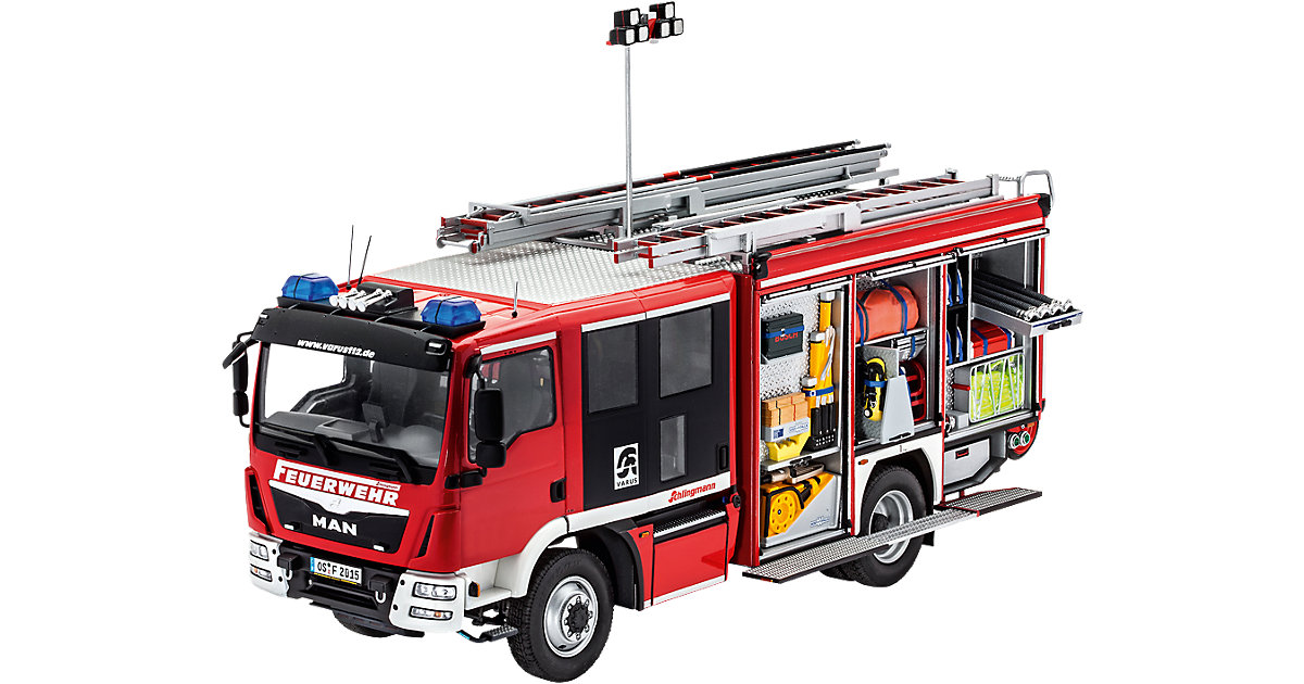Revell Modellbausatz Schlingmann HLF 20(MAN TGM Euro6 im Maßstab 1:24
