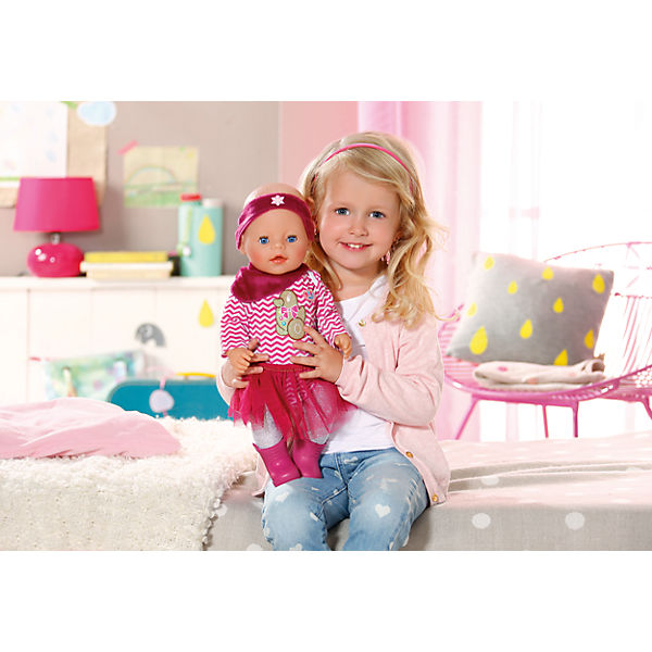 Baby born babypuppe interactive winterzauber girl 43 cm for Baby komplettzimmer