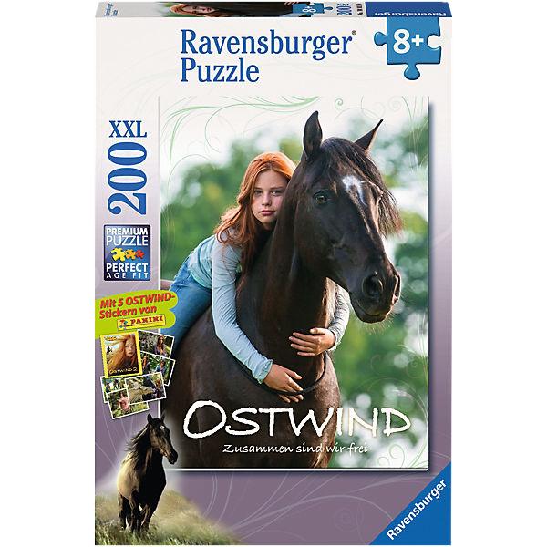 Puzzle Mika & Ostwind 200 Teile, Ravensburger
