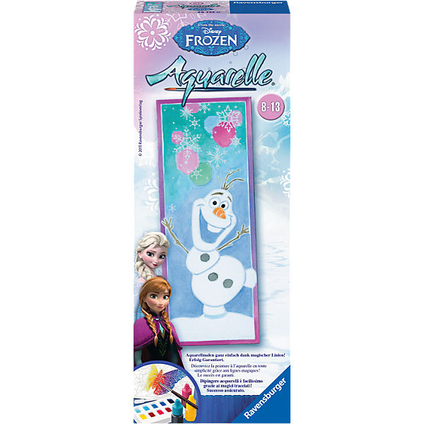 Aquarelle vertical Disney Die Eiskönigin: Olaf