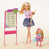"""Игровой набор с куклами Simba """"Steffi Love"""" Штеффи -учитель и Еви - ученица"""