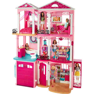 barbie traumhaus g nstig online kaufen mytoys. Black Bedroom Furniture Sets. Home Design Ideas