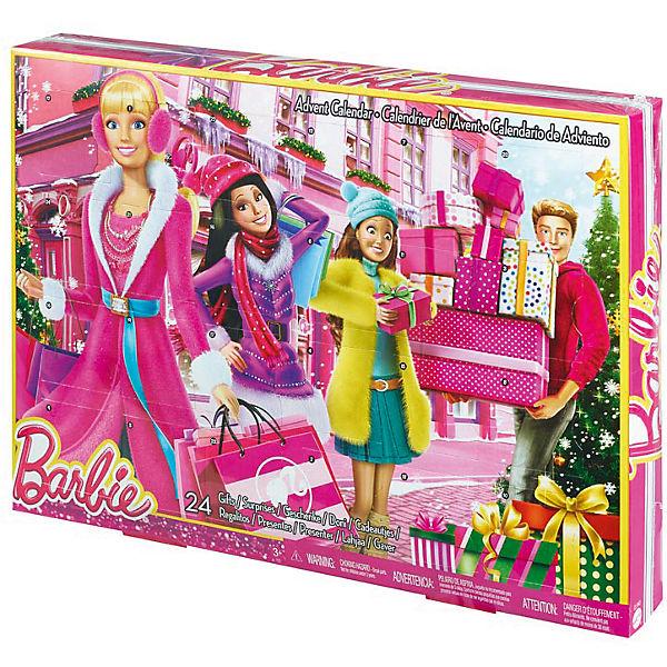 Barbie Adventskalender Barbie Mytoys