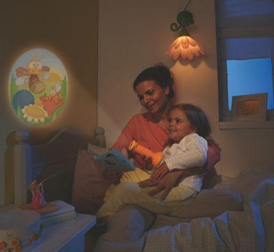 Haba Taschenlampen Projektor kleines Glühwürmchen Orange