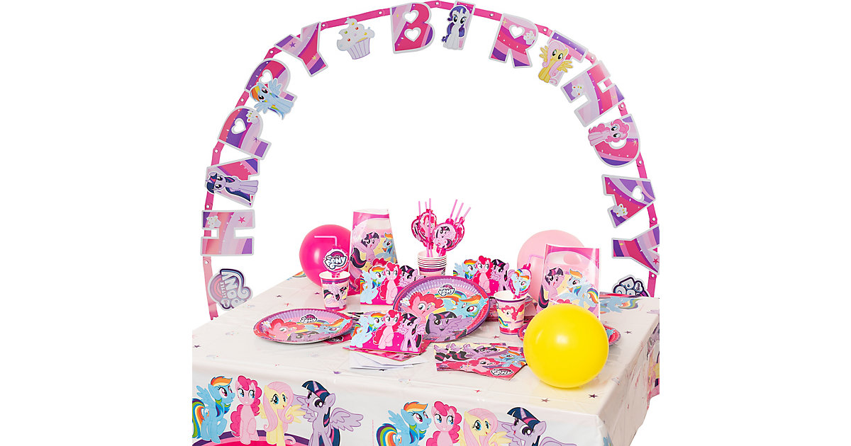 Partyset My Little Pony, 72-tlg.