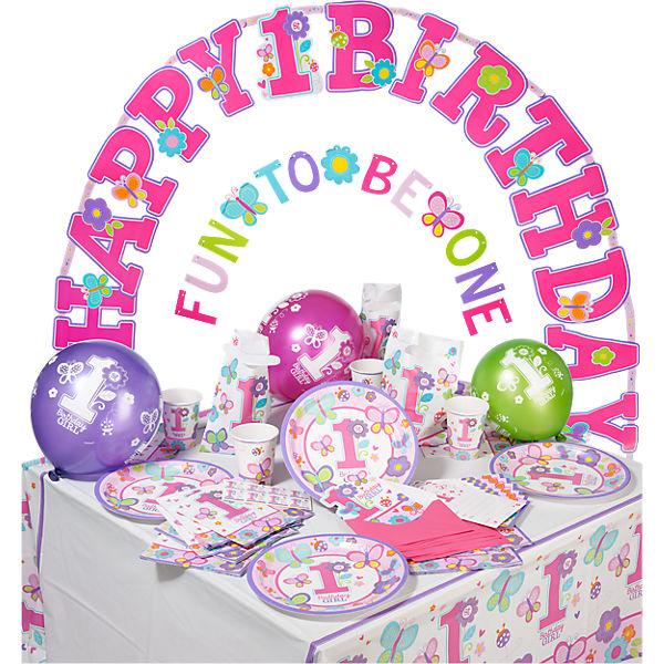 Partyset Sweet Birthday, 56-tlg., Amscan