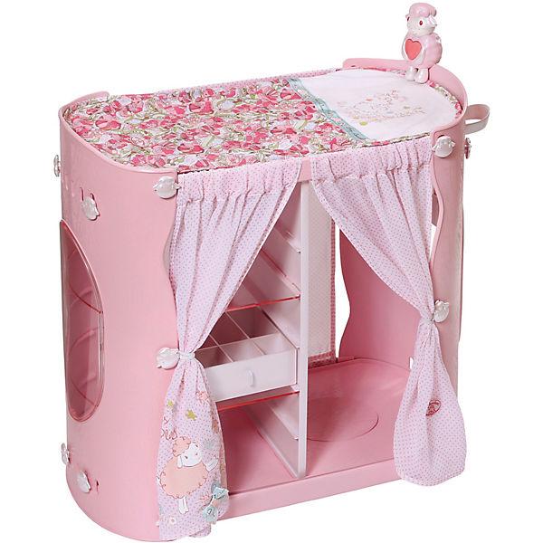 baby annabell puppenschrank mit wickeltisch zapf. Black Bedroom Furniture Sets. Home Design Ideas