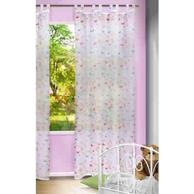 Gardinen Für Mädchenzimmer gardine schmetterling, 245 x 140 cm, | mytoys
