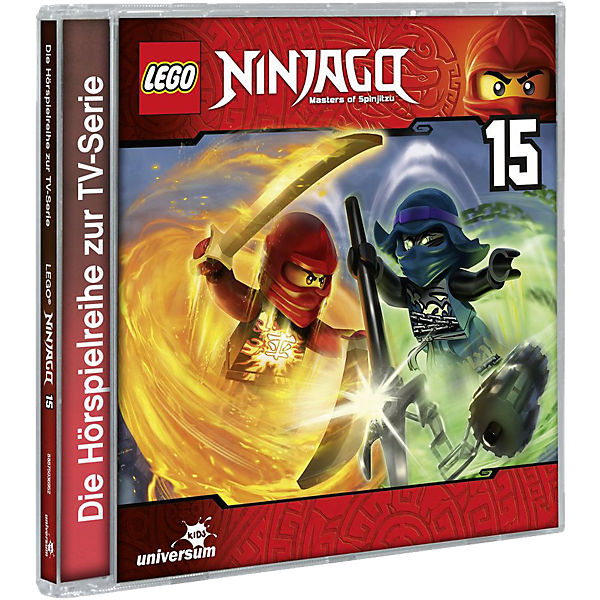 CD LEGO Ninjago - Masters of Spinjitzu 15